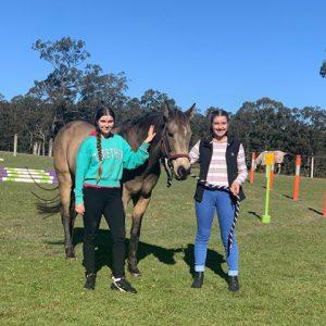 Teen Girl Retreat with horses