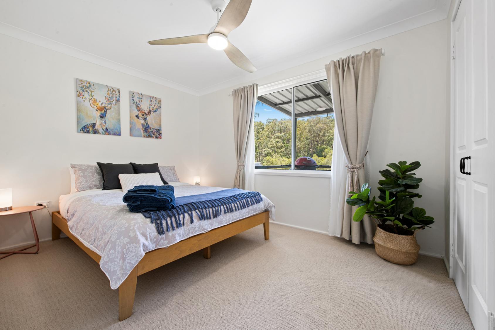 Accommodation Newcastle Bedroom 2