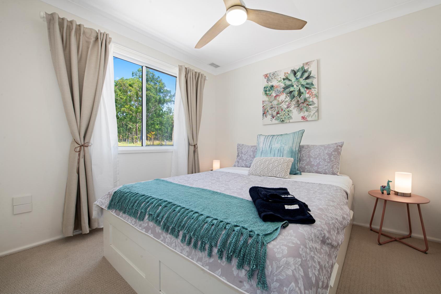 Accommodation Newcastle Bedroom 3