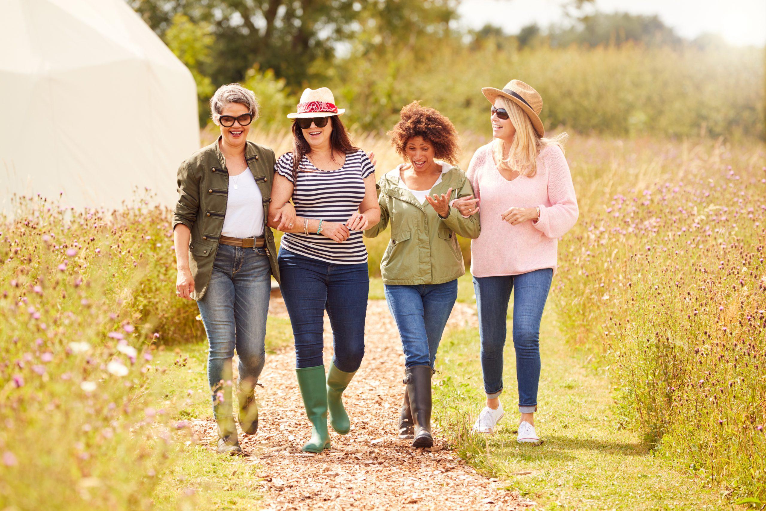 Womens retreat in nature